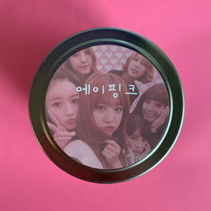 APink Kpop Candle / Cotton Candy / Pink Panda