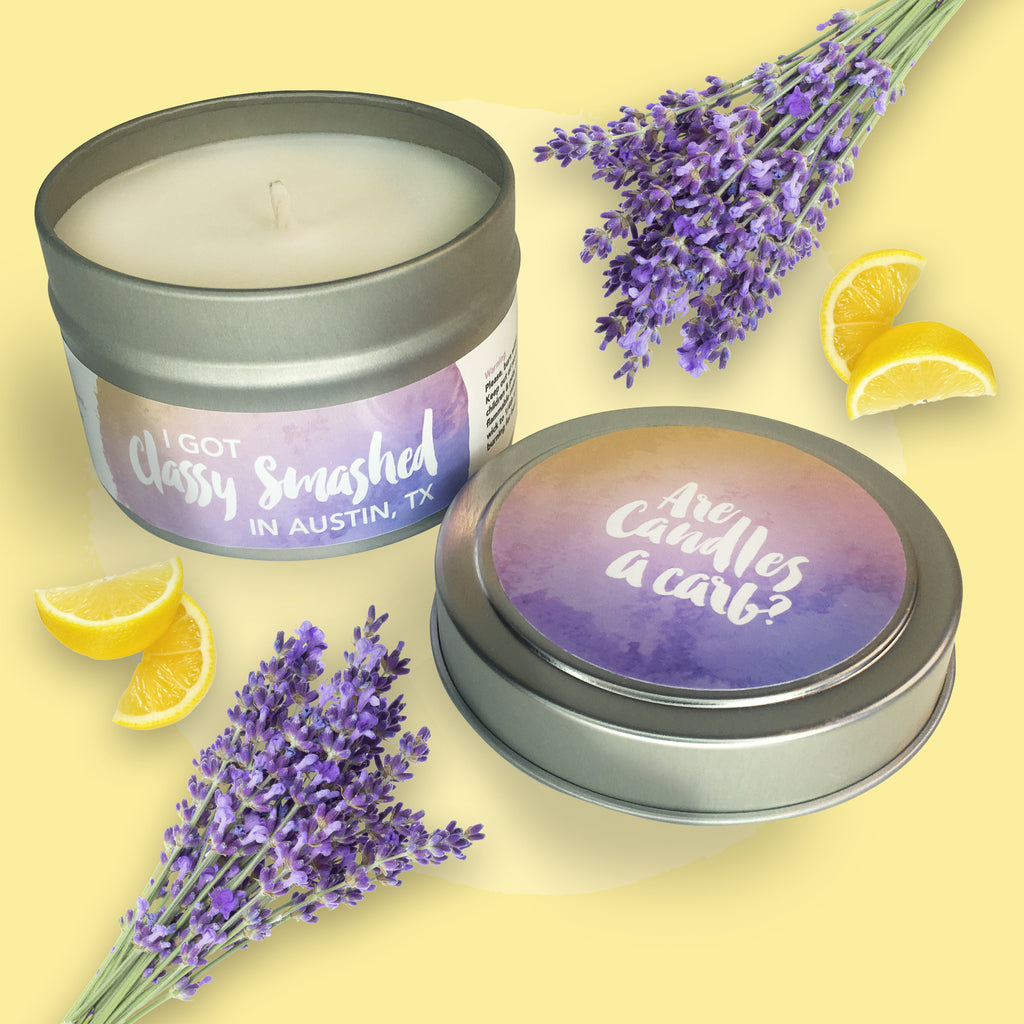 Are Candles A Carb? || Lavender & Lemon Pound Cake 4oz Tin