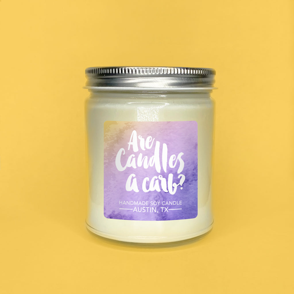Are Candles A Carb? || Lavender & Lemon Pound Cake 8oz Jar
