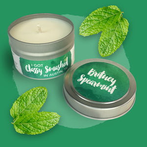 Britney Spearmint || Mint Mojito 4oz Tin