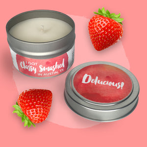 Delucious! || Strawberry Shortcake 4oz Tin