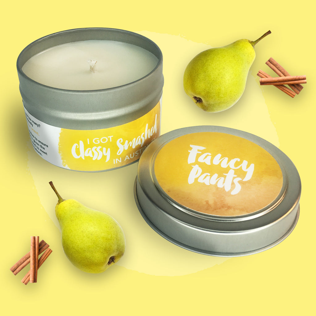 Fancy Pants || Brandied Pear 4oz Tin