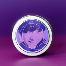 Load image into Gallery viewer, BTS Suga Kpop Candle / Lavender / Lil Meow Meow