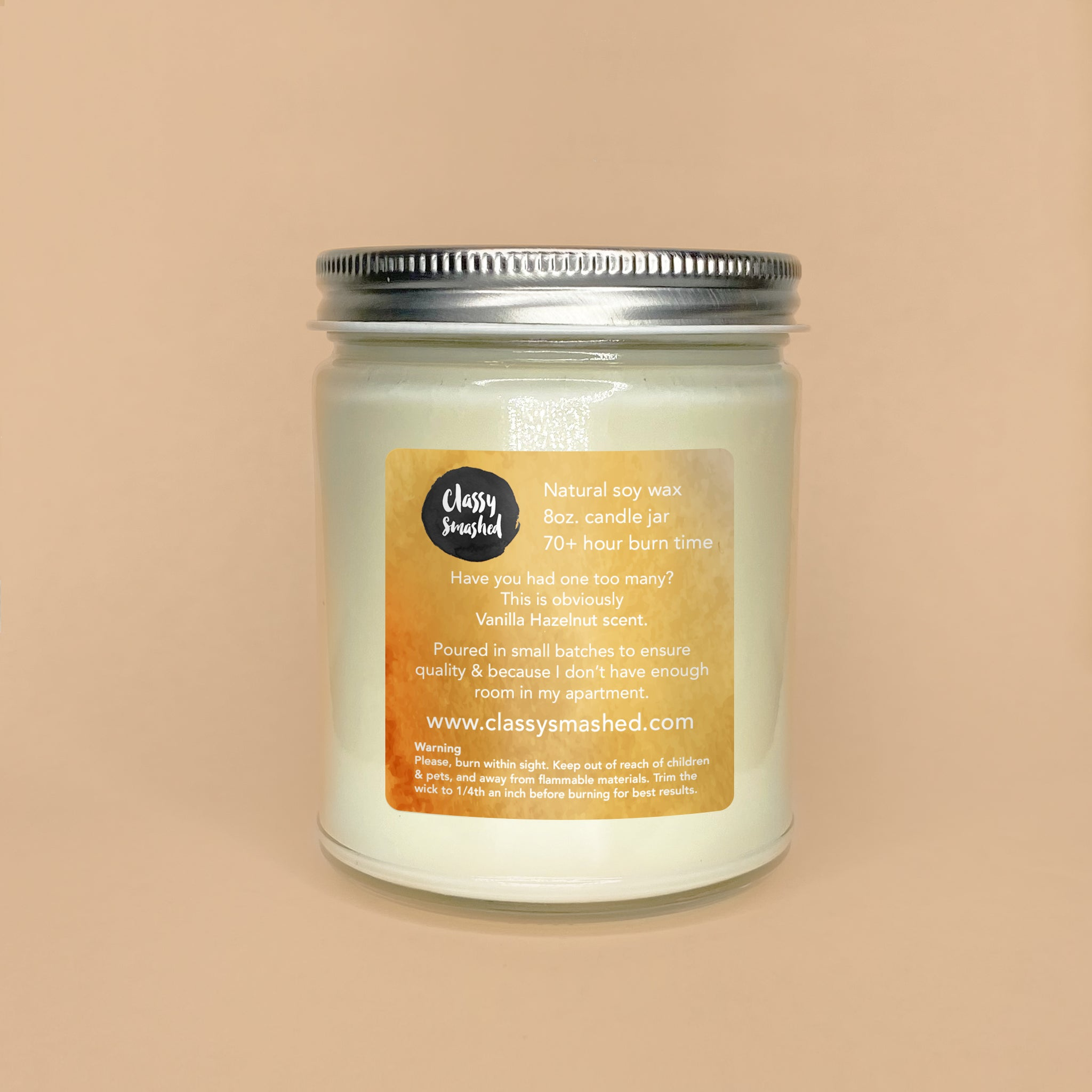 Who Is She? || Vanilla Hazelnut 8oz Jar