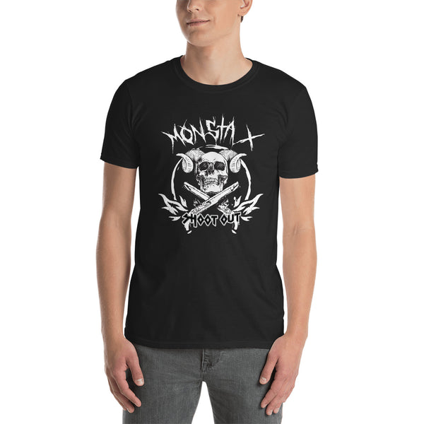 Monsta X Shoot Out Heavy Metal Style Shirt