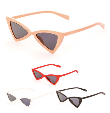 """Kitty"" Cat Eye Sunglasses"