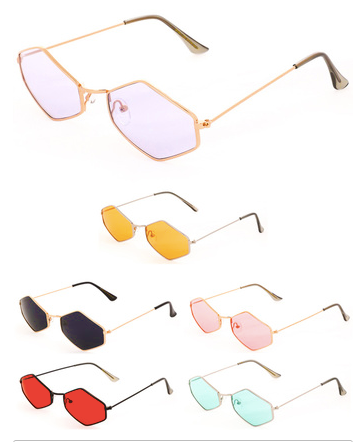 """Honey"" Retro Vibe Sunglasses"
