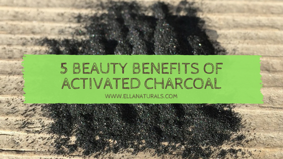 5 Beauty Benefits of Activated Charcoal