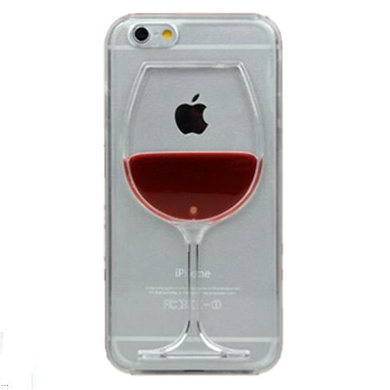 I LOVE Wine Phone Case
