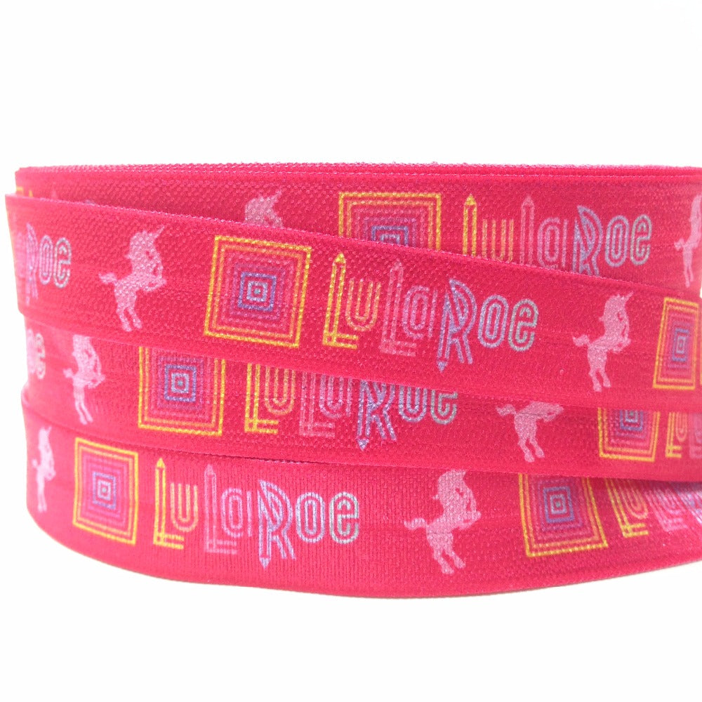 LulaRoe Pink Hair Ties 10 yards