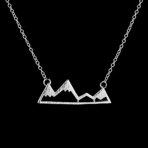 Snowy Mountain Necklaces