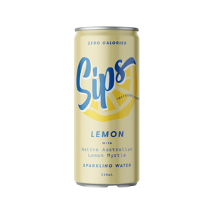 Sips Sparkling Water Lemon