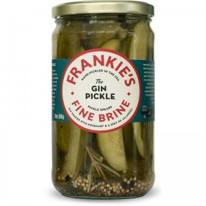 CONDIMENTS & PICKLES - Frankies Gin Pickles