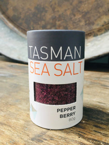 SEASONING - Tasmanian Sea Salt, Pepper berry