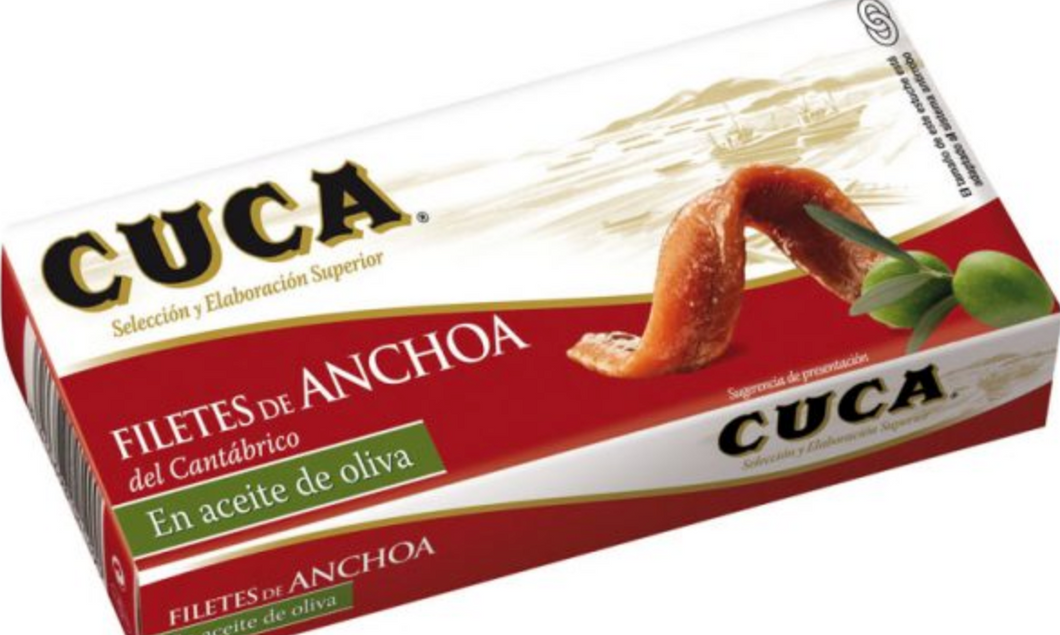 SEAFOOD - Cuca - filets de anchoa