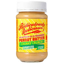 SPREADS - Ridiculously Delicious - Peanut Butter Crunchy