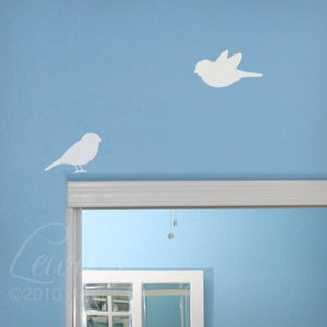 Birdies Vinyl Wall Decal Set
