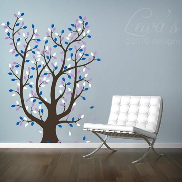 Leafy Tree Vinyl Wall Decal