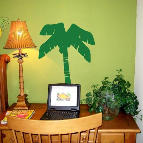 Coconut Palm Tree Vinyl Wall Decal
