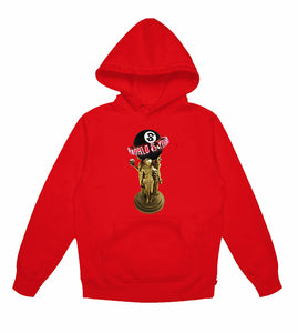 8BALL World IS Yours champion red hoodie