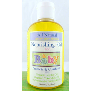 All Natural Nourishing Organic Baby Oil, Baby Massage Oil, Diaper ...