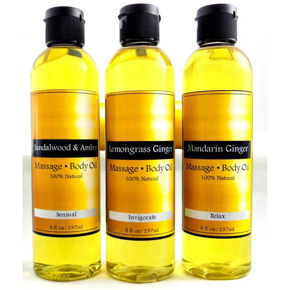 Natural Organic Massage & Body Oil, Sensual Massage, Bath Oil, Moisturizer, Dry Skin Relief, Best Body Oil-Cedar Creek Essentials