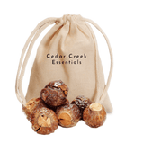 Soap Nuts - All Natural Organic Laundry Soap and Household Cleaner with Muslin Wash Bag Included 50+ Loads - Cedar Creek Essentials