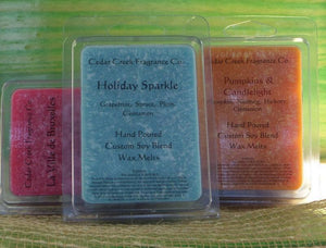 Wax Tart Melts, Highly Scented Wax Tarts-Cedar Creek Essentials