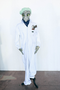 Lab Alien Costume