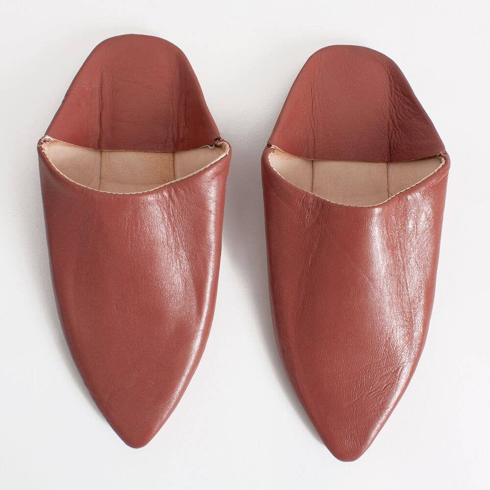 Moroccan Classic Pointed Babouche Slippers