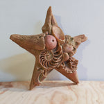 Seashell Decorated Star Wall Hang