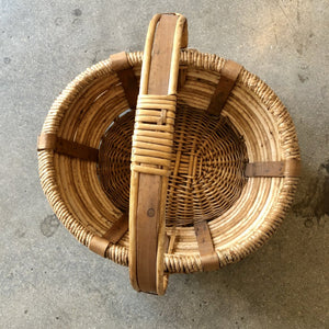 Woven Basket with Handle