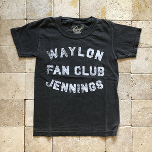 Waylon Jennings Fan Club Tee
