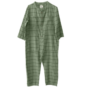 Goba Check Jumpsuit