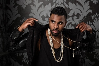 Jason Derulo Shows Off His Jewelry Collection