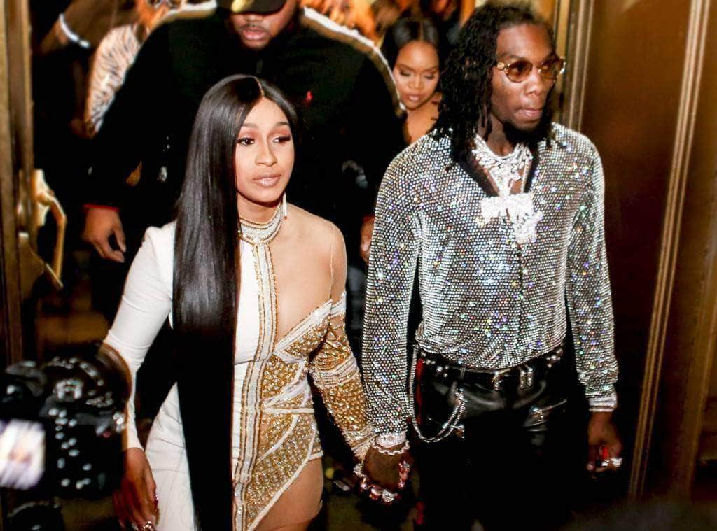 Offset Surprises Cardi B For Mother's Day with matching ice!