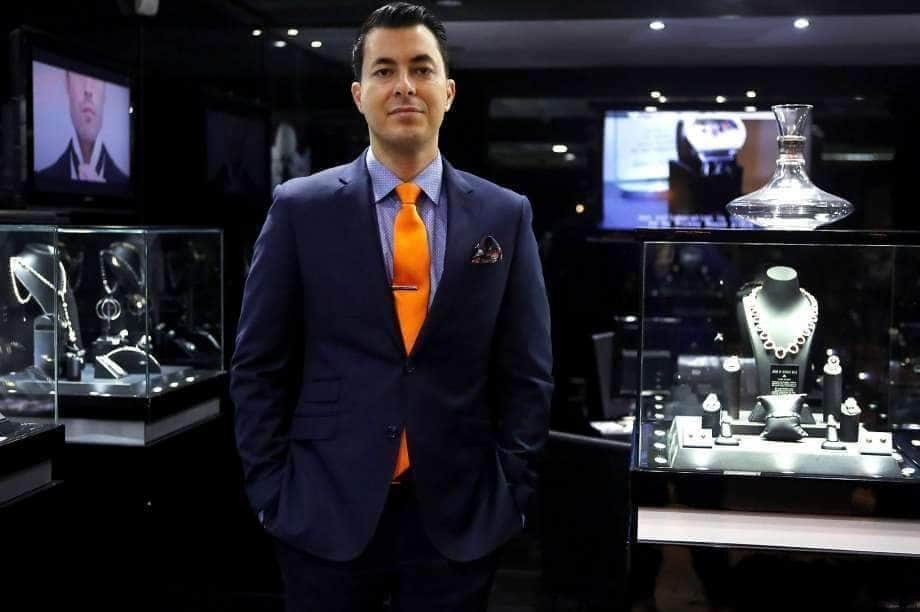 Expert Jeweler Jason of Beverly Hills Shows Off His Jewelry Inventory