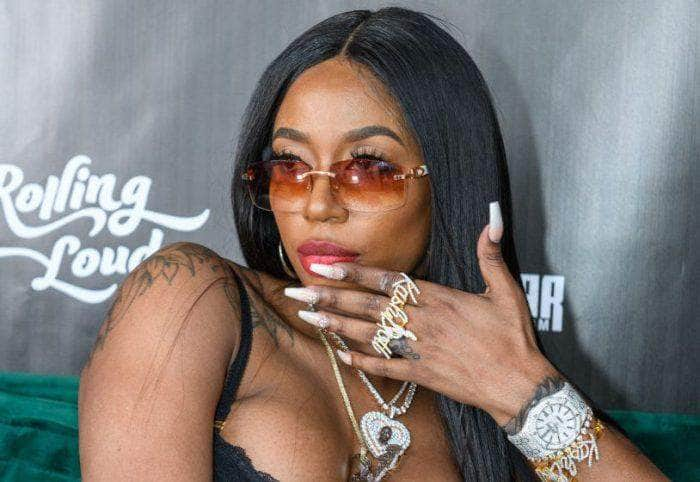 Kash Doll Shows Off Her Jewelry Collection