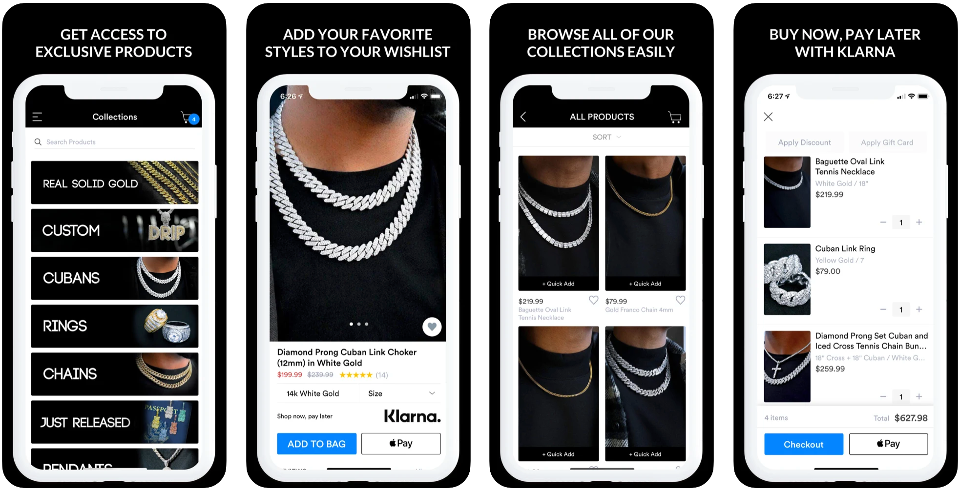 Gold Presidents App Features