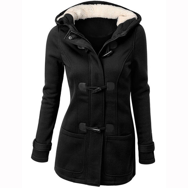 Women Hooded Fall Jacket