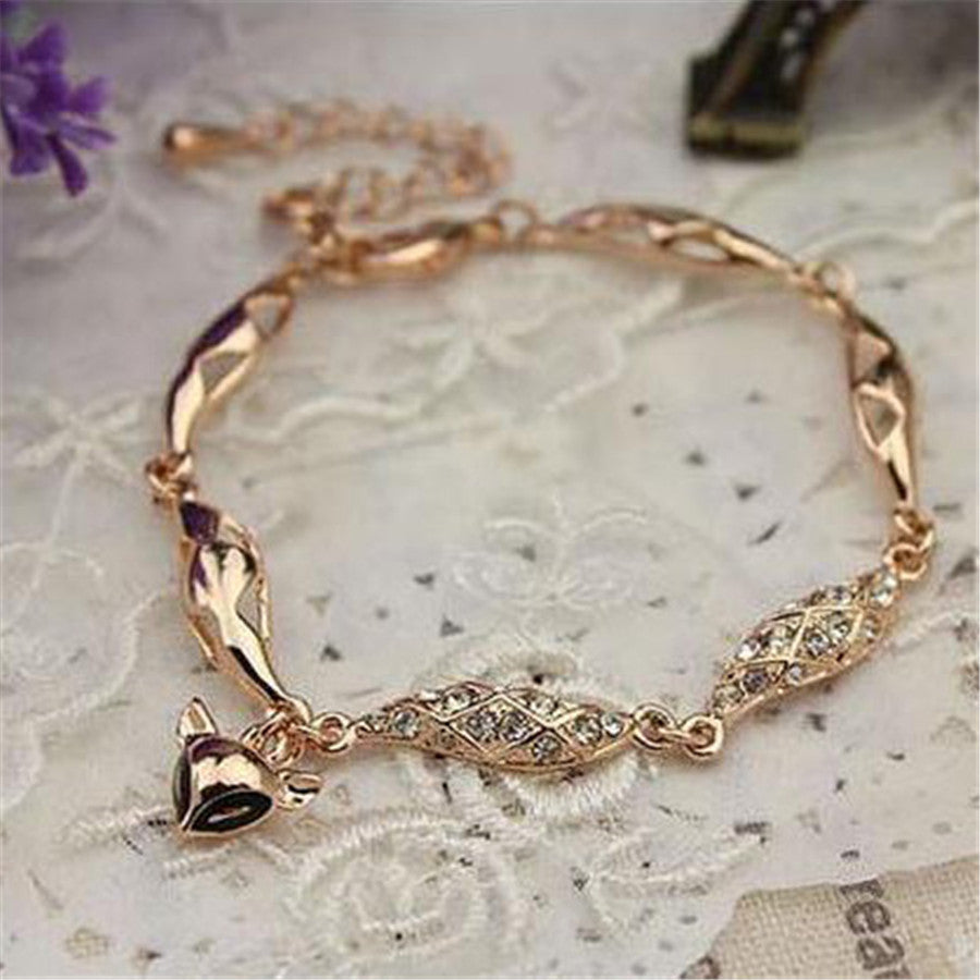 Fox Accessories Hollow Fox Bracelets