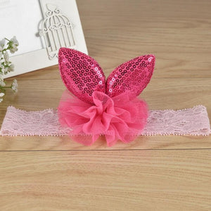 Girl Rabbit ears Headwear 2017 Head Accessories Hair band  Elastic Special accessory Hair Band