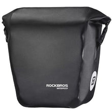 ROCKBROS Bicycle Bike Bag Portable Waterproof Cycling MTB Bike Bag Pannier Rear Rack Seat Trunk Backpack Case Bike Accessories