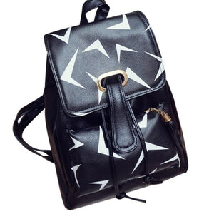 2016 New Fashion Women Travel Backpack High Quality Leather Female Backpack Famous Brand Designer School Bags