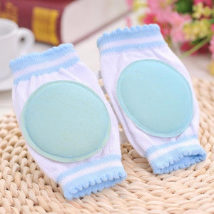 1 Pair Baby Knee Pads Protector Kids Children Safety Crawling Elbow Cushion Infants Knee Pads Protector Leg Warmers Baby Kneecap