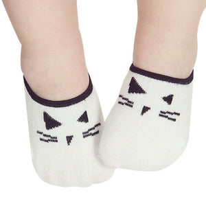 kids boy Kids socks Lovely Baby Boy Girl Cartoon Cat Print Elastic Socks Antiskid Socks