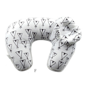 2Pcs Set 2017 Multifunction Nursing Pillow Maternity Pillow U-Shaped Breastfeeding Pillow Cotton Feeding Waist Support Cushion