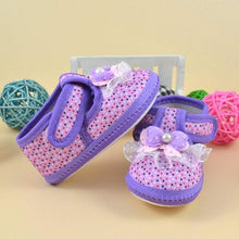 Baby girl shoes summer princess first walker Bowknot Boots Soft Crib Shoes Cloth china cute casual sneakers 0-10M high quality