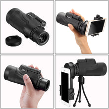 Mini Style 10XHD Phone Telescope Lens Phone Monocular Camera Lens with Tripod Phone Clip Telescope For Telescope Lens Smartphone