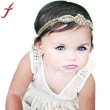 New Arrival Cute Baby Girl Head Accessories Hair band Baby Party Crystal Rhinestone Headwear great gifts for children